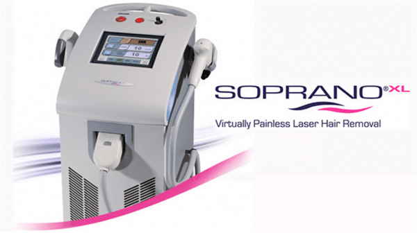 Advanced Laser Hair Removal Treatment Using the Soprano XL at Enriched Med Spa