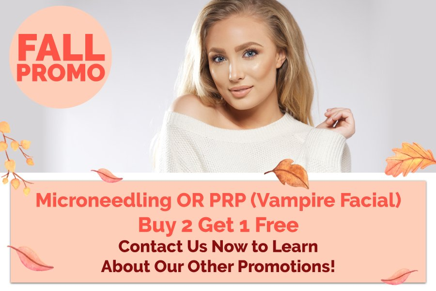 Enriched Med Spa Fall Promo